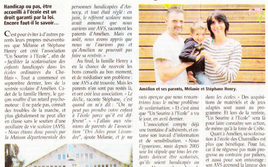 Article Dauphiné juin 2017
